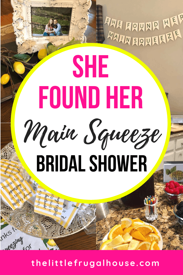 She Found Her Main Squeeze Citrus Theme Bridal Shower