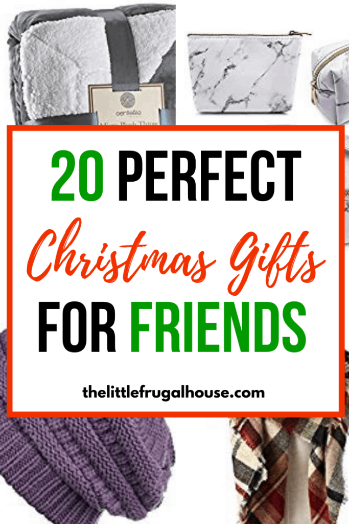20 Christmas Gifts For Best Friends The Little Frugal House