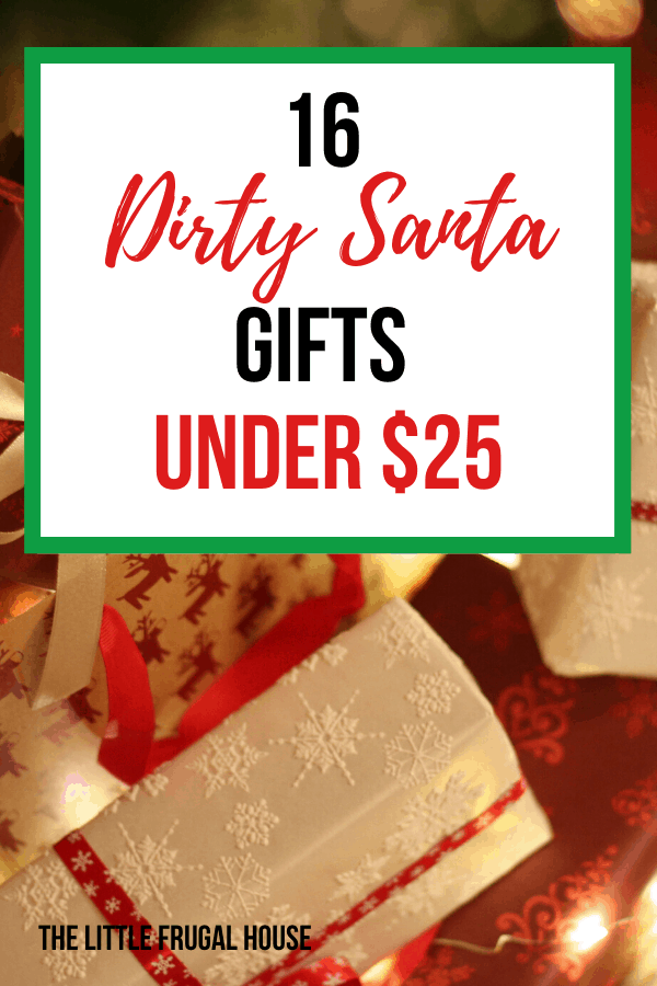 Gift Ideas Dirty Santa Office Party from www.thelittlefrugalhouse.com