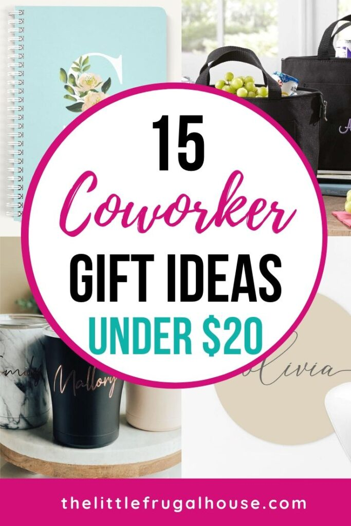15 Coworker Gift Ideas Under 20 The Little Frugal House