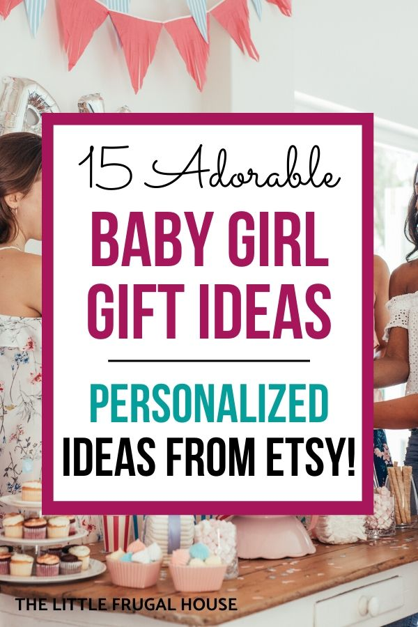 15 Adorable Baby Girl Gift Ideas From Etsy The Little Frugal House
