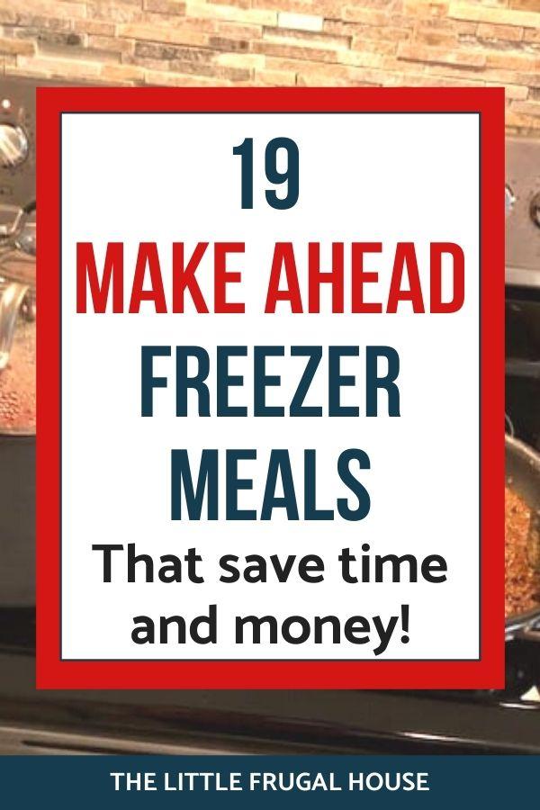 Ces plats à congeler faciles à préparer à l'avance sont parfaits pour les familles, pour deux ou pour un seul.  Économisez du temps et de l'argent avec ces casseroles, plats mijotés et plus encore.
