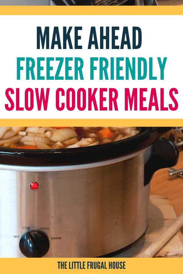 Ceux-ci préparent des repas à la mijoteuse au congélateur qui sont rapides, faciles, adaptés aux enfants et économiques.  Prenez la liste des ingrédients et les recettes pour remplir votre congélateur.